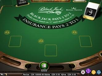 Blackjack zdarma